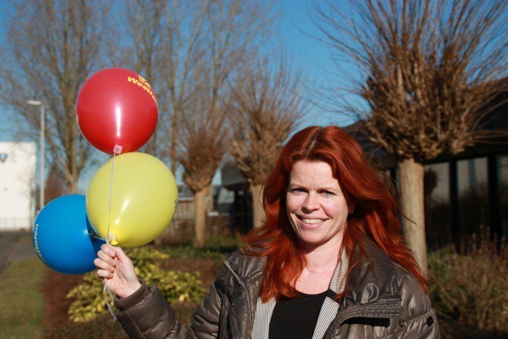 Helium ballon Ursula